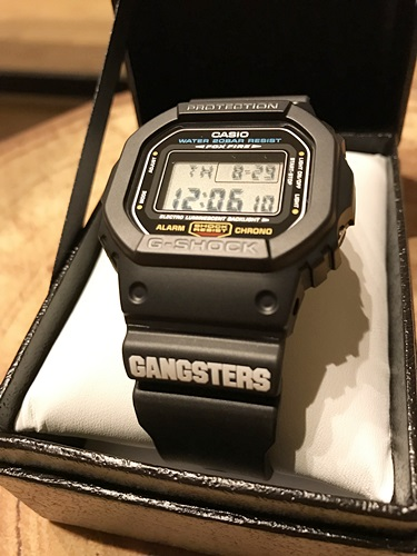 G-SHOCK GANGSTERS モデル