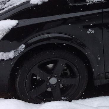 昨年3月の大雪に見舞われた時の様子